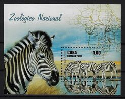 CUBA 2005. HB PARQUE ZOOLÓGICO NACIONAL. MNH. EDIFIL 4863 - Nuevos