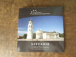 MONNAIES  / TC30 / LITUANIE Coffret 2015 Neuf ** (manque La Pièce Or ! - Lituanie