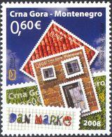 2008 Stamp Day, Montenegro, MNH - Montenegro