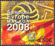2008 European Water Polo Championship, Malaga 2008, Montenegro, MNH - Montenegro