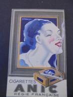 TABACS , CIGARETTES ANIC, REGIE FRANCAISE : PETIT CARNET POUR ECRITURE - Tobacco (related)