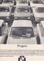 Feuillet De Magazine BMW 1600 - Cars