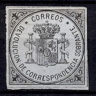 Espagne Timbre De Retour YT N° 1 Neuf. B/TB. A Saisir! - 1850-68 Regno: Isabella II