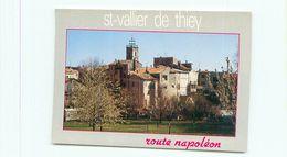 Cpsm - Saint  Vallier De Thiey - Village Sur La Route Napoléon           V1498 - Autres Communes