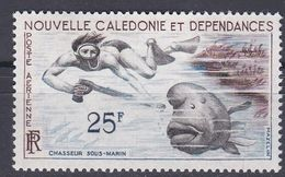 Neukaledonien 1962 - Mi.Nr. 381 - Postfrisch MNH - Tiere Animals Fische Fishes - Peces