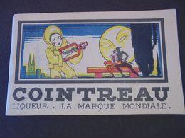 ALCOOL - COINTREAU - LIQUEUR, LA MARQUE MONDIALE - PETIT CARNET PUBLICITAIRE POUR ECRITURE - Altri