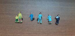 7 Figurines Voyageurs Et Badauds, Echelle HO - Scala HO