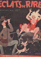 Revue Eclats De Rire N°13 Humoristes Aldebert Morier Teyvar Gad Bellus Badert Soro 1949 ? - Livres, BD, Revues