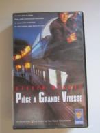 CASSETTE VIDEO VHS  Piège A Grande Vitesse Avec Steven Seagal - Actie, Avontuur