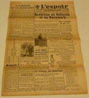 L'Espoir (Saint-Étienne) Du 5 Et 6 Mai 1945. - Riviste & Giornali