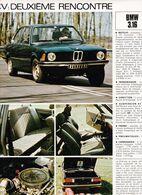 Feuillet De Magazine BMW 316 1976 - Cars