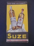 ALCOOL - SUZE, A TOUS LES SUFFRAGES -  PETIT CARNET PUBLICITAIRE POUR ECRITURE - Altri