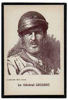 Carte Souvenir : Le Général Leclerc. - Otros