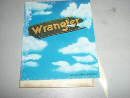 9 ADESIVI PUBBLICITARI WRAGLER - Sammelbilder, Sticker