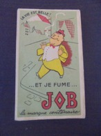 TABACS , JOB : LA VILLE EST BELLE ET JE FUME JOB - PETIT CARNET PUBLICITAIRE POUR ECRITURE - Tobacco (related)