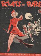 Revue Eclats De Rire N°20 Humoristes Gus Mose Aldebert Gad Bellus Moal Lic Teyvar Peynet Jean Brian 1949 ? - Livres, BD, Revues