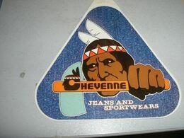 ADESIVE PUBBLICITARIO CHEYENNE JEANS - Sammelbilder, Sticker