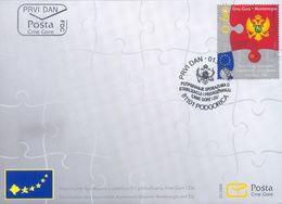 2008 FDC, The Singing Of EU Association And Stabilization Treaty, Montenegro, MNH - Montenegro