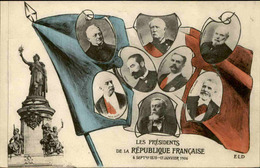 POLITIQUE - Carte Postale - Les Présidents De La République Française De 1870 à 1906 - L 67056 - Personnages