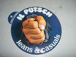 2 ADESIVI UGUALI IL PUTSCH JEANS & CASUAL - Sammelbilder, Sticker