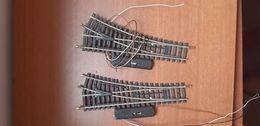 2 AIGUILLAGES DROITS S R=385 JOUEF HO TRAIN ELECTRIQUE - Binari
