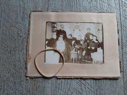 Photo Ancienne Mai 1904 Méri Keuj Scène De Famille à Déterminer - Persone Anonimi