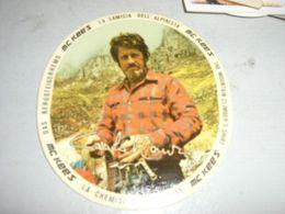ADESIVO PUBBLICITARIO MC KEES CON RAFFIGURATO L'ALPINISTA CARLO MAURI - Sammelbilder, Sticker