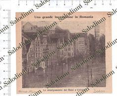 1924 - Romania - Colonia Reno - Da Pubblicazione Originale D'epoca - Cromos Troquelados