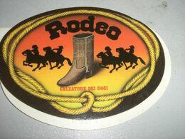 ADESIVO PUBBLICITARIO RODEO CALZATURE DEI DOGI - Sammelbilder, Sticker
