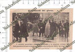 1924 - Cisnero Raigada Peru' - Da Pubblicazione Originale D'epoca - Cromos Troquelados