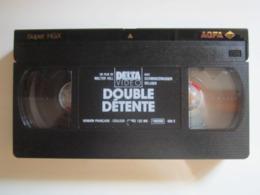 CASSETTE VIDEO VHS ORIGINAL DOUBLE DETENTE BELUSHI SCHWARZENEGGER - JAQUETTE De TELE K7 - Actie, Avontuur