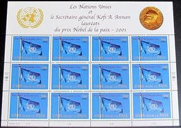 UNO GENF 2001 Mi-Nr. 432 Kleinbogen ** MNH - Blocks & Sheetlets