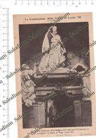 1924 - Traslazione Slama Papa Pope LEONE XIII - Da Pubblicazione Originale D'epoca - Cromos Troquelados