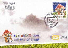2008 FDC, Stamp Day, Montenegro, MNH - Montenegro