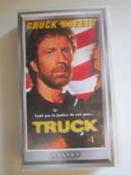 CASSETTE VIDEO VHS TRUCK TRAHI PAR LA JUSTICE DE SON PAYS... CHUCK NORRIS - Actie, Avontuur