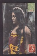 CPA Tahiti Océanie Océania Polynésie Femme Women Circulé - Tahiti