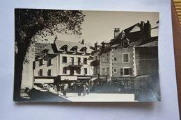 Vue De SAINT-GENIEZ D'OLT-carte Photo???-cafe Elie-coiffeur-(photo F. Ullern) - Andere Gemeenten
