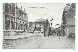 Paris- Plage - Rue De Londres/rue St-Amand  - La Mairie (école Des Filles) - Edit. Agence Matifas - Le Touquet
