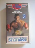 CASSETTE VIDEO VHS MIKE TYSON ANALYSE POUR VOUS VOYAGE DANS L'HISTOIRE DE LA BOXE - Sports