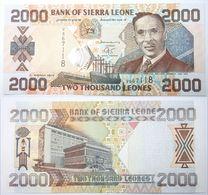 SIERRA LEONE 2000  2003 UNC - Sierra Leone