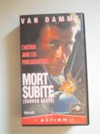 CASSETTE VIDEO VHS Van Damme – Mort Subite (Sudden Death) - Actie, Avontuur