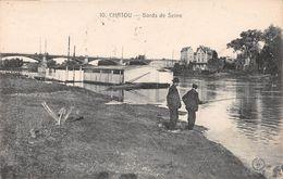 CHATOU - Bords De Seine - Pêcheur - Chatou