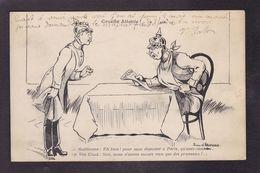 CPA Anti Kaiser écrite Jean D'Aurian  Allemagne Germanie - Satiriques