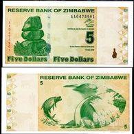 ZIMBABWE  5 $  2009  UNC - Zimbabwe