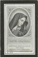 DP. JULES VANDENBERGHE ° LEYSELE 1862- + 1910 - GEMEENTESECRETARIS VAN LEYSELE - Godsdienst & Esoterisme
