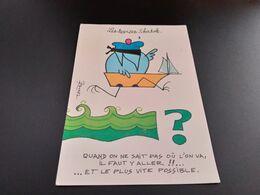 CPSM.  Illustrateur Rouxel. Les Devises Shadok.  (J.107) - Illustratori & Fotografie