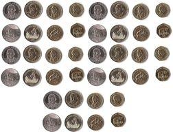 Tanzania - 10 Pcs X Set 4 Coins 50 100 200 500 Shilingi 2014 - 2015 UNC Lemberg-Zp - Tanzanía