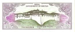 BHUTAN  P. 6 2 N 1981 UNC - Bhutan