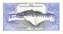 BHUTAN P. 12a 1 N 1986 UNC (2 Billets) - Bhutan