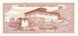 BHUTAN P. 14a 5 N 1985 UNC - Bhutan